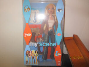 My Scene Barbie Doll with change of clothes. BRAND NEW IN BOX