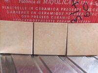 Tiles (kitchen/bathroom) Terracotta (1sq metre)