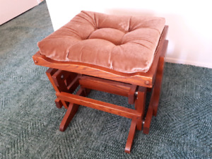 Solid Wood Footrest in Excellent Condition