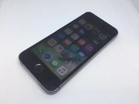 Apple iPhone 5s 16GB Space Gray Cracked screen- Network Unlocked -
