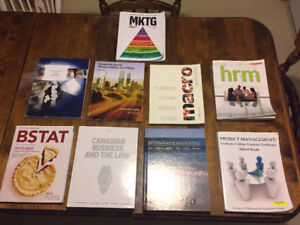 Fanshawe College Business Textbooks For Sale