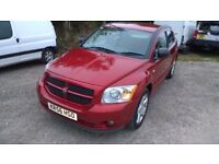 Dodge Caliber SXT Sport 2007-56-plate, 1968cc turbo diesel, 112,000 miles , new mot