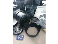 2 automatic/ manual for lenses for Pentax & bag etc. OFFERS?