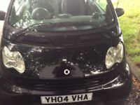 2004 SMART FORTWO SEMI AUTOMATIC IMMACULATE CONDITION INSIDE AND OUTSIDE DRIVES PERFECT NO FAULTS