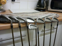 Cleveland Ta 7 tour action irons, new grips 3-PW