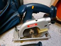 Ryobi Cordless hand tool's