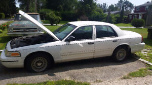 2001 ford crown vic P71