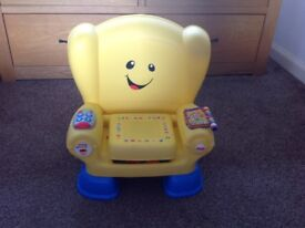Fisher price Laugh & Learn Smart Stages Chair *** great condition