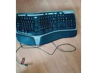 Ergonomic Microsoft Keyboard
