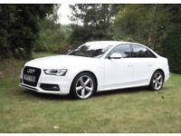 Audi A4 -62 plate- 3.0 diesel - white