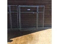 Two Dog Kennel / run doors