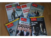 The Economist magazine - selection of issues - years 2009-2015