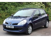 *Beautiful Low Mileage* Renault Clio 1.2 Expression 5dr, Full MOT, Met. Blue *12 Months Warranty*
