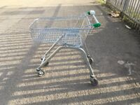 Supermarket Shopping Trolley Cart On Wheels, 70 L Traditional. Cheapest Available on Gumtree and net
