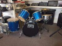 session pro starter drum kit complete