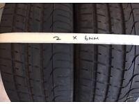 2 X 245 45 ZR 18 Pirelli PZero Tyres