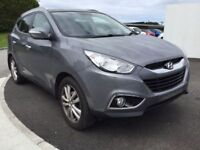 Hyundai ix35 Premium 4WD CRDi 134 2.0 Estate (grey) 2013