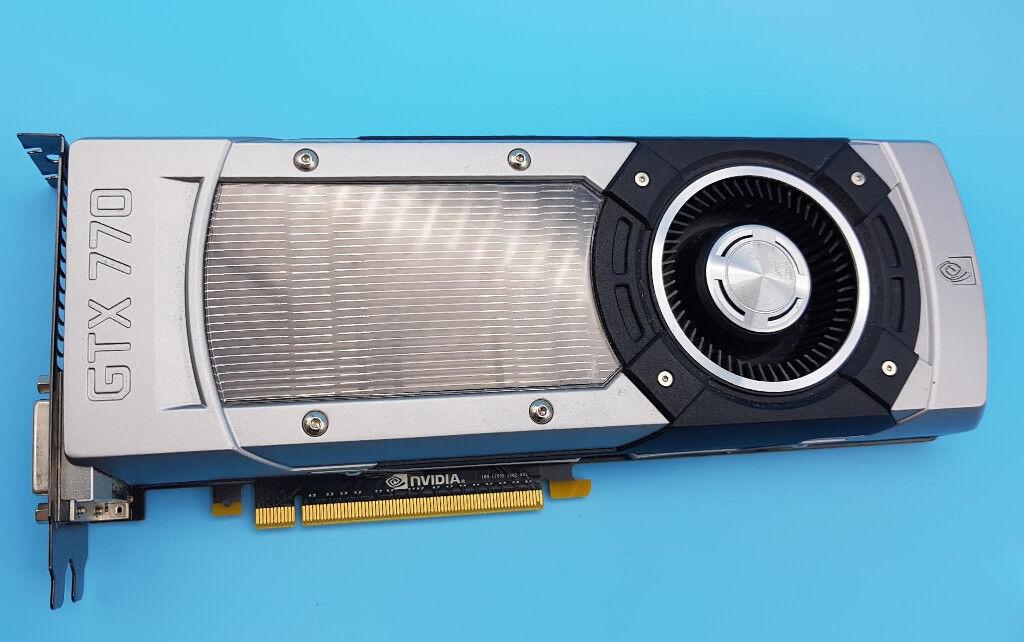 Nvidia GTX 770 2gb graphics card