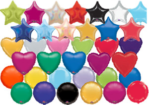"BALLOONS STAR,ROUND & 12"" FOIL/LATEX DOLLAR STORE PRICES"