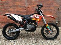 60 plate KTM 450 Xc-w enduro bike rare find