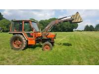 Zetor 6718 tractor small holding equine