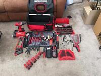 Facom toolbag + job lot of tools