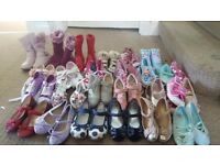 26 pairs of size 10 girls shoes £30 bundle collection only bearsden area