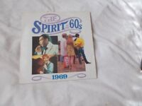 Vinyl LP The Spirit Of The 60's 1969 Various Artists Time Life TL 532/05