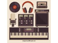 Music Studio Production Room available to share , calling all musicians and producers