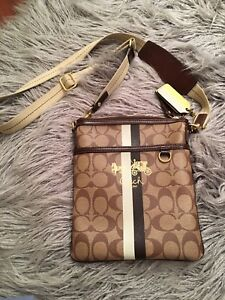 Coach Heritage crossbody bag