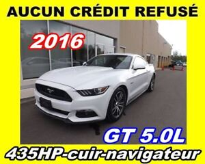 2016 Ford Mustang **GT**V8 5.0L**Premium**Navigation, Cuir.Mags*