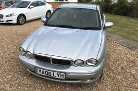 2006 Jaguar X Type 2.0 Diesel Spares Or Repairs MOT Sep 17