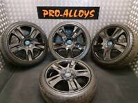"18"" FORD ST ALLOY WHEELS AND TYRES *REFURBISHED* 5X108 PCD MONDEO FOCUS TRANSIT"