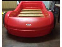 Little tykes car bed with mattress