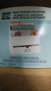 Desk top organizer