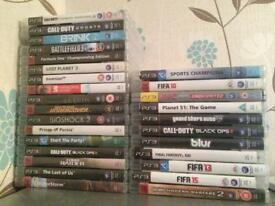 PS3 GAMES (REDUCED PRICE)