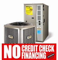 Furnace Air Conditioner Rent to Own .$0 down. NO Credit Check...