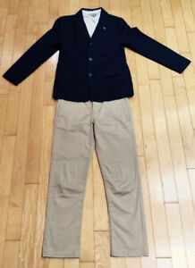 3 pieces suit  for youth bought in  FRANCE