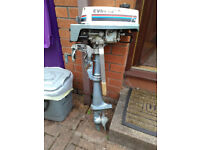Evinrude 2hp outboard motor engine for spares