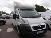 Peugeot Boxer 2.2 Hdi Floor Cab 130Ps DIESEL MANUAL WHITE (2014)