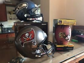 NFL Replica Helmets & Ball