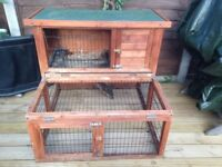 Rabbit hutch / Guinea pig cage