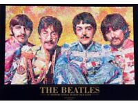 The Beatles Large Framed Sgt. Pepper's Lonely Hearts Club Band, 1967 Photomosaic by Robert Silvers