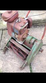 Qualcast Suffolk Colt lawn mower for restoration