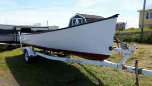 20 Ft. Cape Boat and Trailer (Comes with Papers)