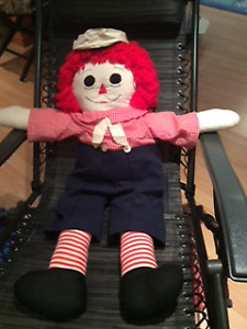 Raggedy Andy - hand made