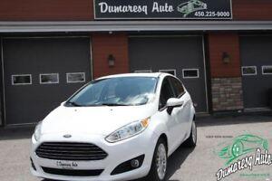 2014 Ford Fiesta Titane+CUIR+TOIT OUVRANT+GPS