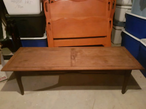 Antique Kroehler coffee table