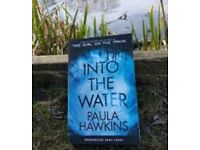 Into the water book by Paula Hawkins