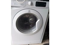 Indesit washing machine with 7kg drum capacity and 14 wash programmes